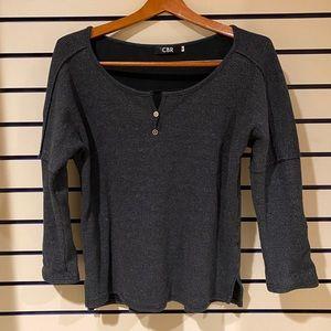 Medium CBR grey women's long sleeve